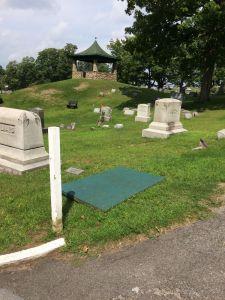 Gazebo at Boonville Cemetery