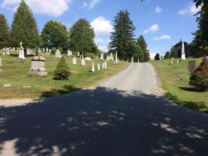 Pathway of Boonville Cemetery