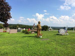 Image of Veteran's Memorial at Boonville Cemetery