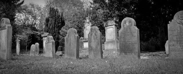 Graves in Monochrome